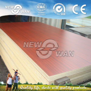 Furniture Grade Poplar Core Melamine Particle Board (NMFC-016) pictures & photos