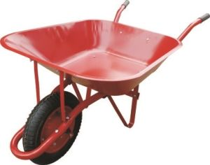 Red Paint Wheelbarrow pictures & photos