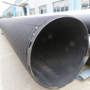 Large Size HDPE Double-Wall Middle-Empty Winding Pipe From China Factory pictures & photos