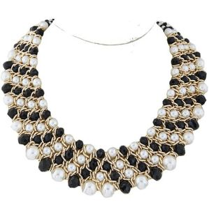 Statement Necklaces 2017 Pearl Jewelry Vintage Big Crystal Necklaces & Pendants Statement Necklaces Women Accessories Wholesale pictures & photos