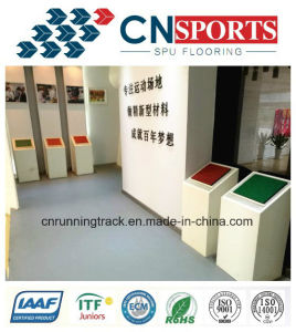 Customized Beauty Spua Rubber Factory Flooring of Ce Certificate pictures & photos