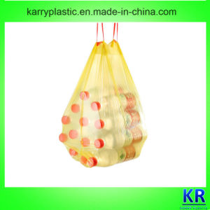 HDPE Garbage Bags Drawstring Bags pictures & photos