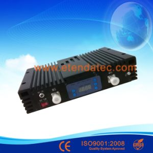 Digital Display 27dBm 80db 900MHz Mobile Signal GSM Repeater pictures & photos