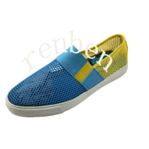New Hot Design Men′s Canvas Casual Shoes pictures & photos