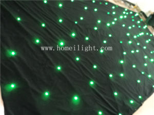 RGB 3 in 1 LED Star Curtain Star Cloth Backdrop with CE pictures & photos