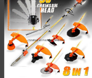 Multi-Function Garden Tools 8 in 1 Hedge Trimmer Brush Cutter