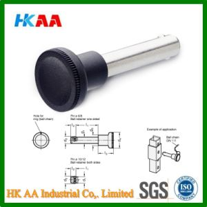 Custom Stainless Steel Quick Release Spring Ball Locking Pin pictures & photos