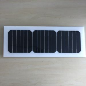Alternative Energy Monocrystalline Cell Price Semi Flexible Solar Panel 10W 10V pictures & photos