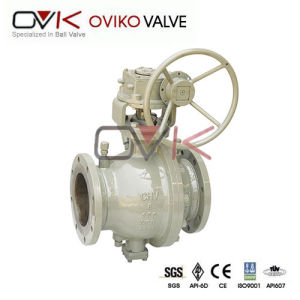 Full Welding Forging Trunnion Ball Valve