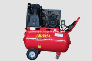 Th-4090t Double Stage Belt Driven Air Compressor 4HP with 90L pictures & photos