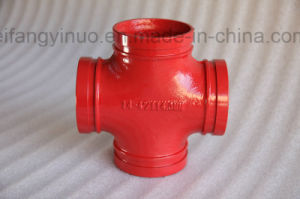 Ductile Iron 300 Psi Grooved Equal Cross -1nuo Brand pictures & photos