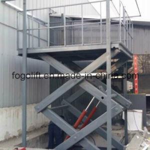 Heavy Duty Stationary Scissor Lift / Construction Machinery pictures & photos