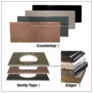 China Manufacturer of Granite and Marble Kitchen Countertop/Vanity pictures & photos