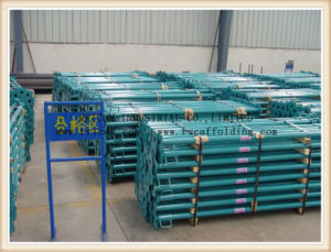 China Manufacturer High Strength Adjustable Steel Scaffolding Props for Construction Formwork pictures & photos