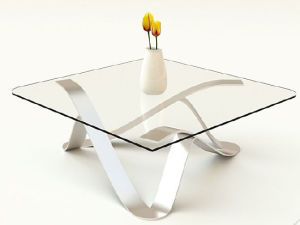 5mm-10mm Tempered Glass Table Cover with Polished Edge pictures & photos