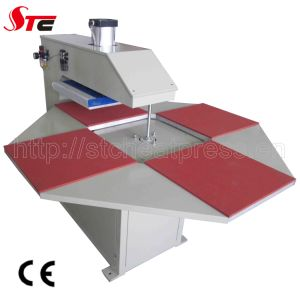 Four Stations Efficient T Shirt Printing Machine, Clothes Heat Press Transfer pictures & photos