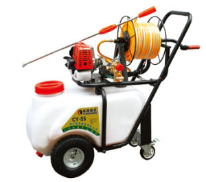 Agricultural Hand Push Gasoline Power Sprayer (CY-55) pictures & photos