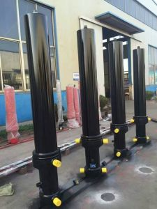 Dump Truck Front End Telescopic Hydraulic Cylinder pictures & photos