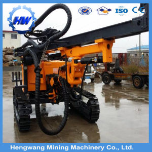 Crawler Hydraulic Drilling Rig Borehole Dilling Machine (HQZ120) pictures & photos