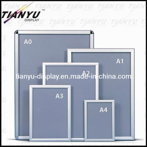 Wall Mounted Aluminum Snap Frame for Poster Display (TY-SF-25) pictures & photos