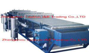 Tailings Treating Vacuum Rubber Belt Filter Press pictures & photos