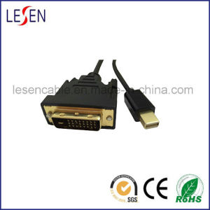 Mini Displayport Male to DVI (24+1) Male Cable pictures & photos