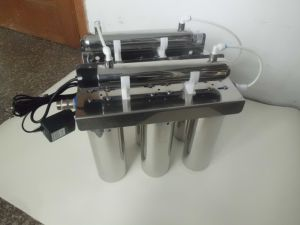 4 Stage UF Water Filter with UV Sterilizer QY-UFUV04 pictures & photos