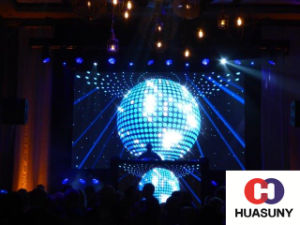 Flexible LED Curtain Display Solution for Stage pictures & photos