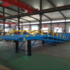 Mobile Hydraulic Loading Ramp Container Load Ramp pictures & photos
