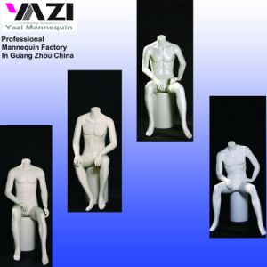 Male Sitting Mannequin for Fashion Display pictures & photos