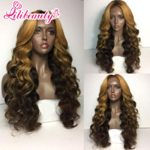 100% Human Hair Wig Heavy Density Lace Front Wig pictures & photos