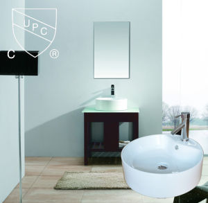 Round Bathroom Ceramic Basin pictures & photos