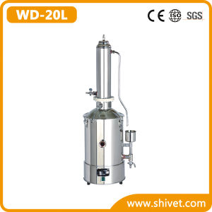 Tower Type Electrically Heated Water Distilling Apparatus (WD-20L) pictures & photos