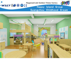 Nursery School Kids Wooden Table and Chairs (KS2-1-F) pictures & photos