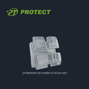 Orthodontic Sapphire Ceramic Bracket Asthetic Bracket with CE ISO FDA pictures & photos