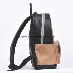 2017 Korean Style High Quality PU Leather Backpack Satchel Shoulder Bag pictures & photos