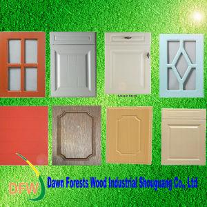 PVC Vacuum MDF Cabinet Door (DFWL0536) pictures & photos