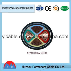 0.6/1 (1.2) Kv Low-Voltage Electrical Cables 4X120mm2 Yjv22/Yjlv22 pictures & photos