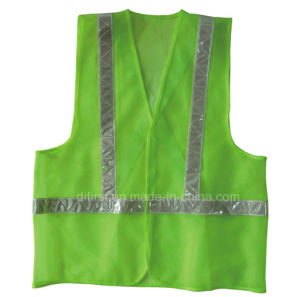 High Visibility Reflective Safety Vest (DFV1074) pictures & photos