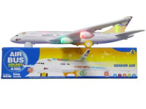 High Quality Plastic B/O Airplane with Flashing (10206226) pictures & photos