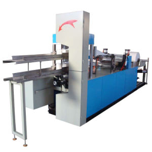 Double Layers Folding Dinner Napkin Paper Making Machine pictures & photos