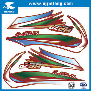 Screen Printing Car Motorcycle Body Sticker Decal pictures & photos