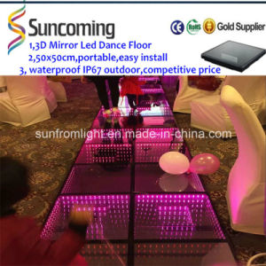 Party, Stage 3D Dimension Effect Infinite LED Dance Floor pictures & photos