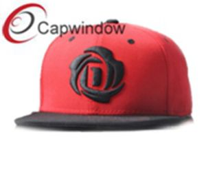 Brown Flower Embroidery Promotional Fashion Leisure Baseball/Snapback Hat pictures & photos