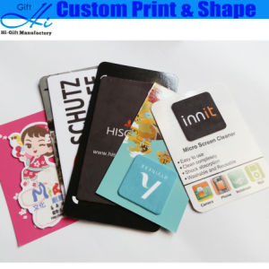 Custom Printed Shapped Cheap Promtional Gift Sticky Cleaner