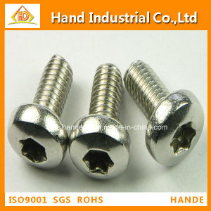 Stainless Steel Torx Pan Head Tamper Proof Security Screws pictures & photos