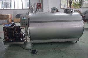 Food Sanitary 3000L Milk Transport Tank pictures & photos