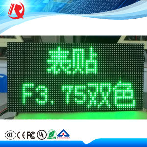 F3.75 Indoor Single Red Dual Color LED Board pictures & photos