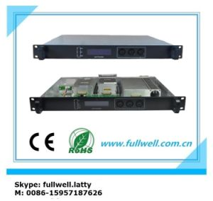 CATV Fiber Optics 1550nm Directed Modulation Optical Transmitter for 15km (FWT-1550D/PS-10) pictures & photos