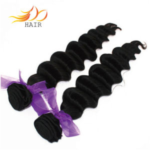 100% Loose Deep Wave Remy Hair Brazilian Virgin Human Hair pictures & photos